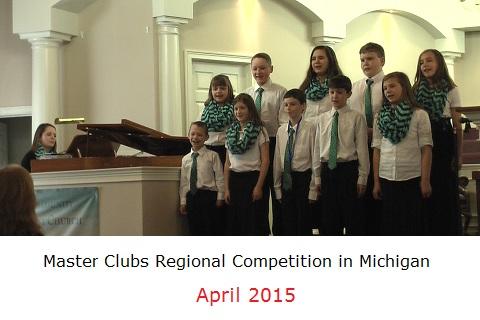 Kids singing in Michigan